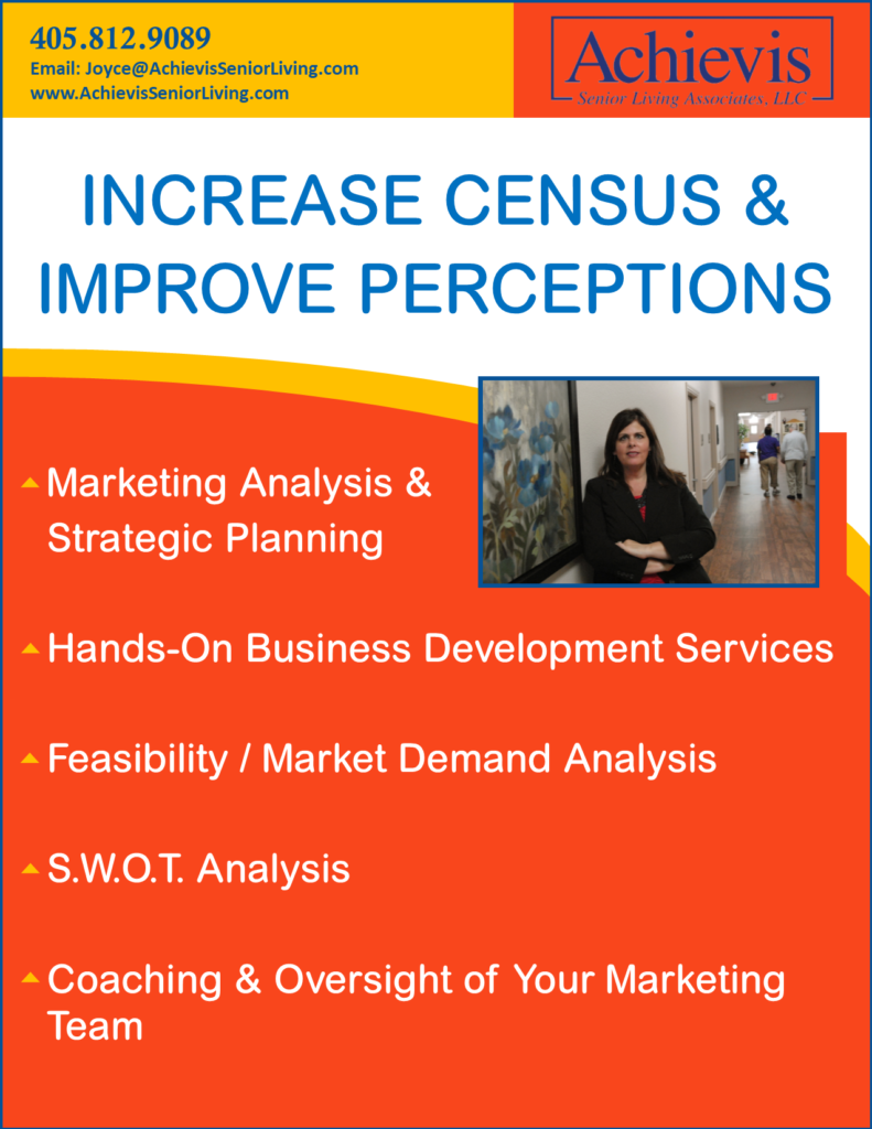 Increase Census & Improve Perceptions